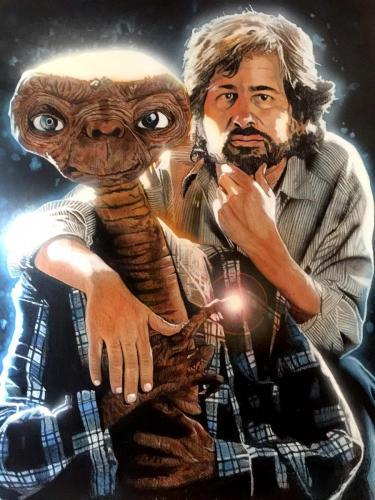 E.T. & Steven Spielberg